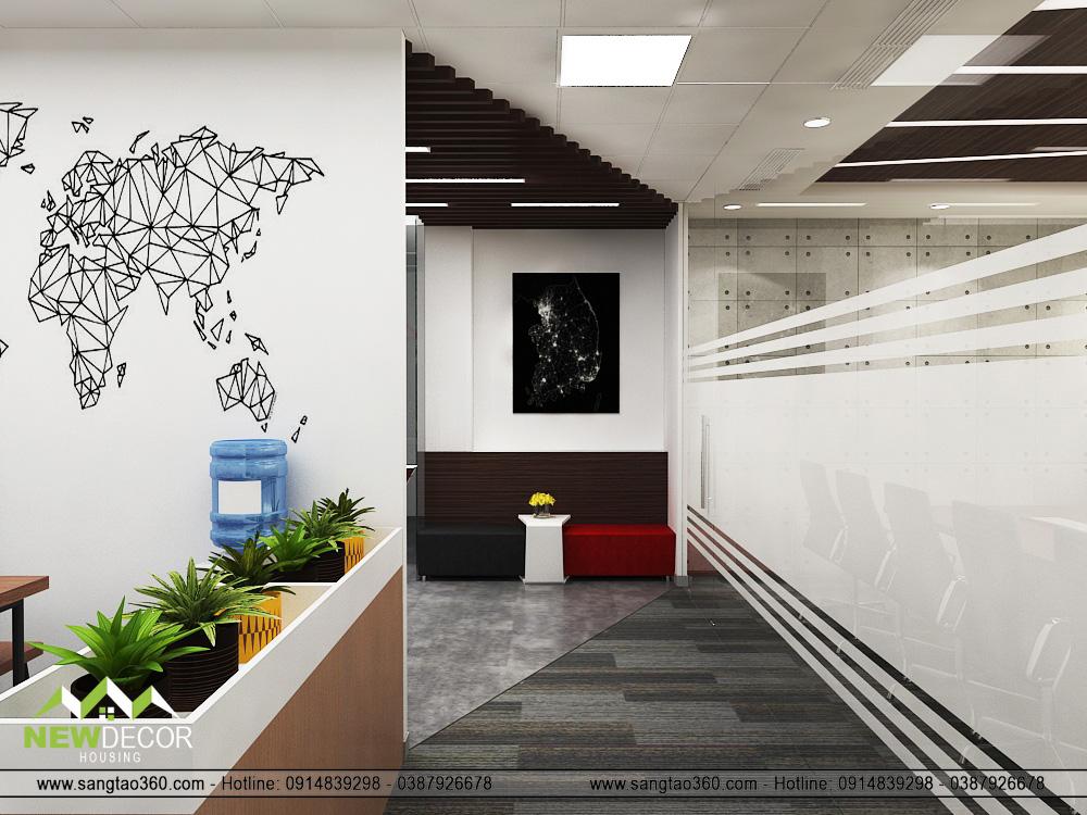 nội thất văn phòng sáng tạo