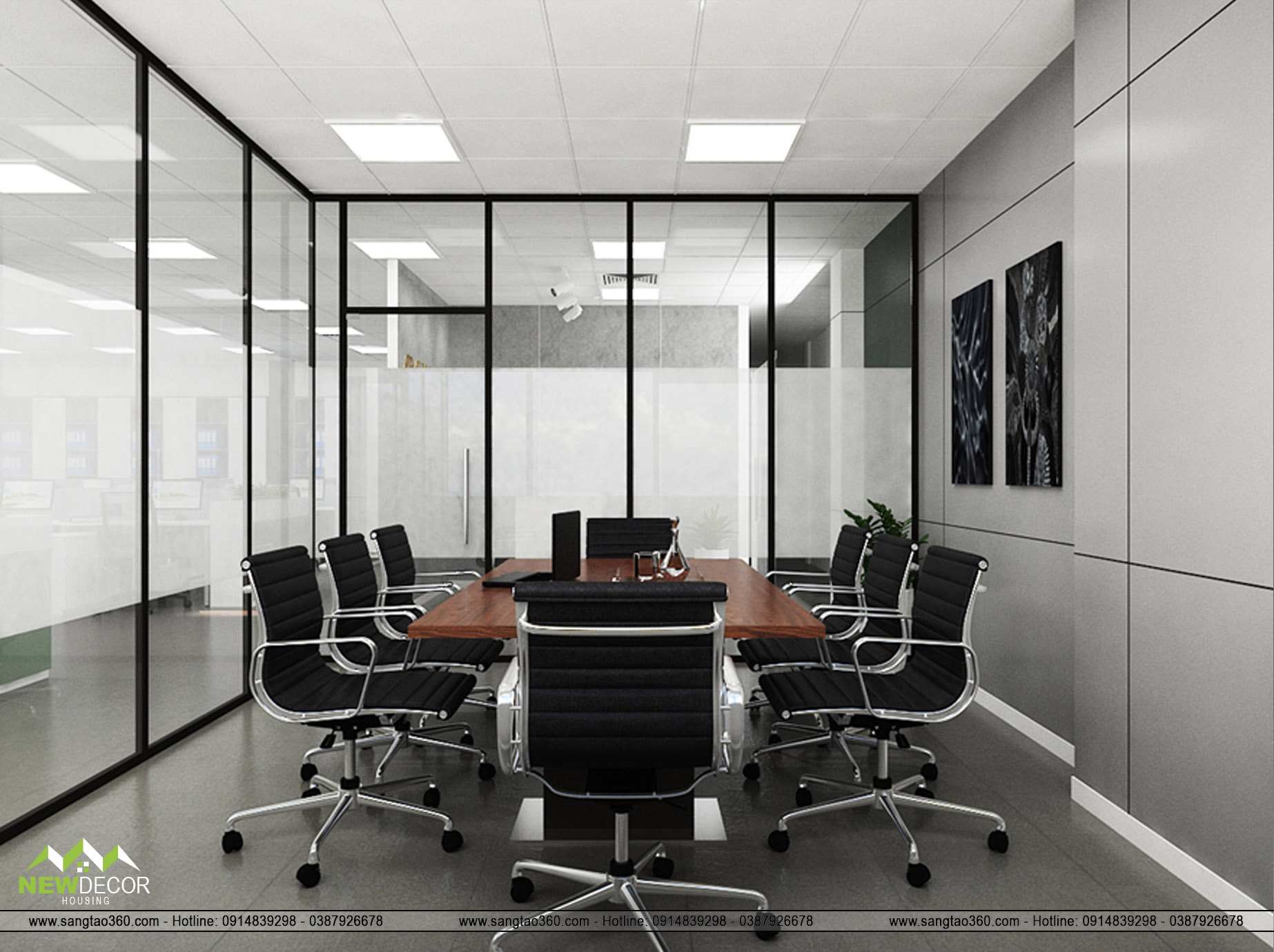 phòng họp nhỏ view 1