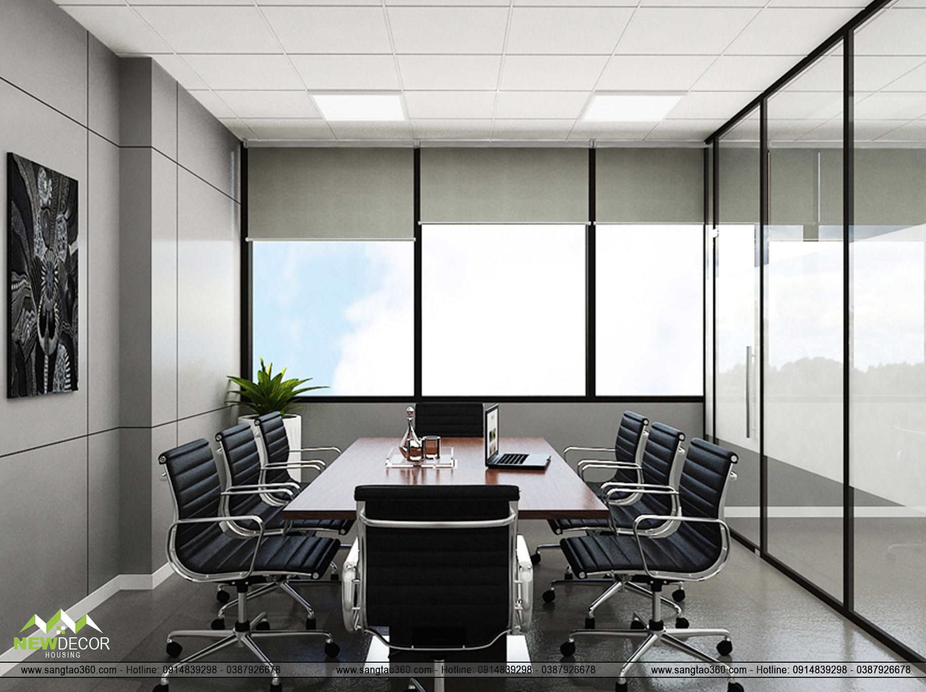 phòng họp nhỏ view 2