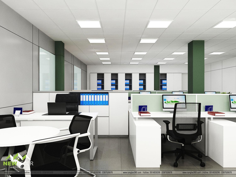 thiết kế văn phòng đại diện gms
