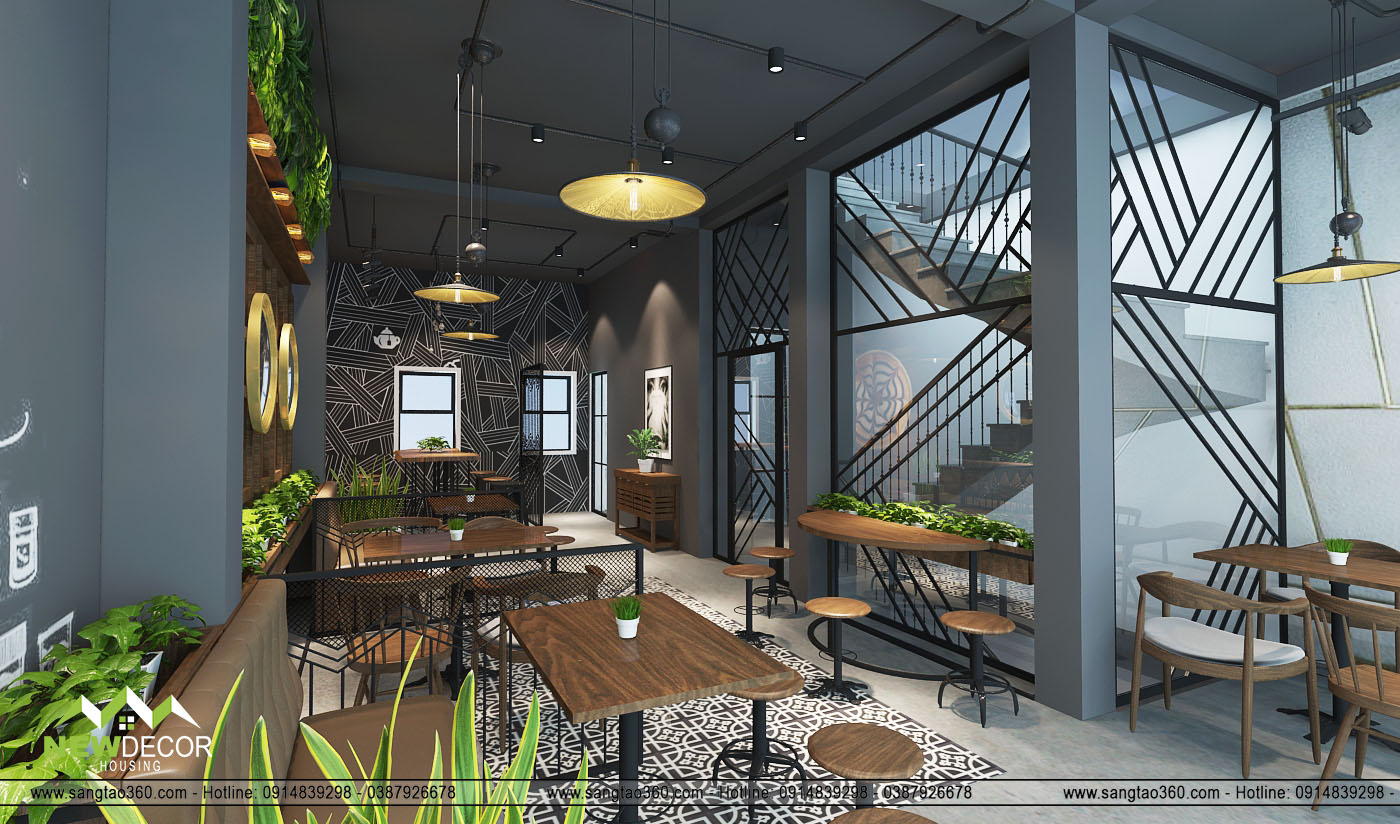 thiết kế quán cafe Brisa Coffee