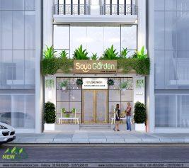 thiết kế quán Soya Garden