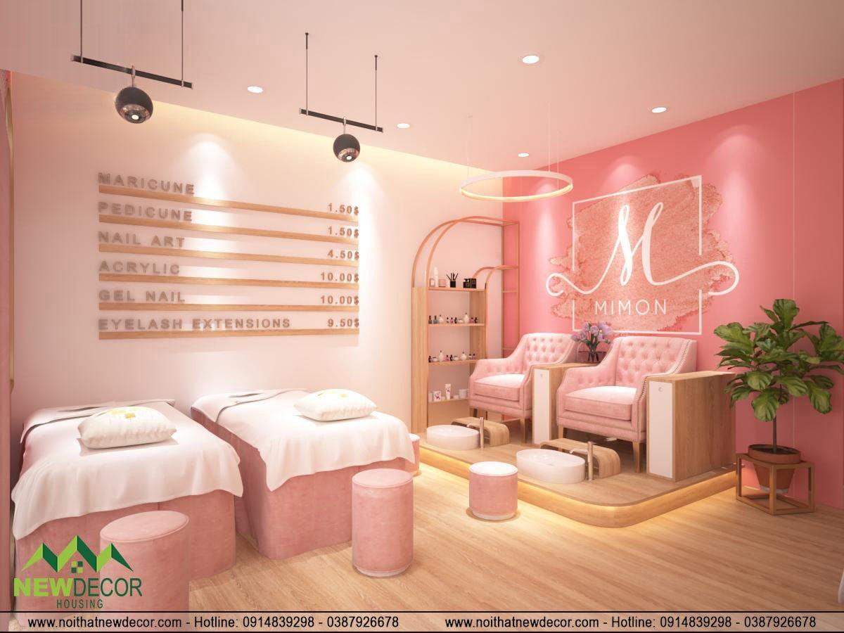 Thiết kế tiệm spa đẹp
